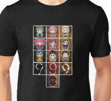 9 sprites 9 persons 9 pixels Unisex T-Shirt