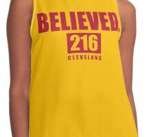 Believed - Cleveland - Finals tee Contrast Tank