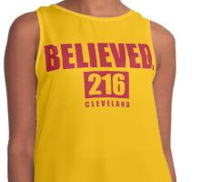Believed - Cleveland - Finals tee Contrast Tank