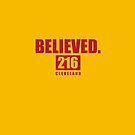 Believed - Cleveland - Finals tee by integralapparel