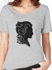 Rococo Silhouette: Monsieur Women's Relaxed Fit T-Shirt