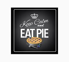 Keep Calm and Eat Pie Design Unisex T-Shirt