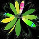 Fractal Flower by Dana Roper