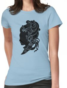Rococo Silhouette: Madame Womens Fitted T-Shirt