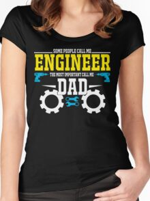 best gift for engineer Women's Fitted Scoop T-Shirt