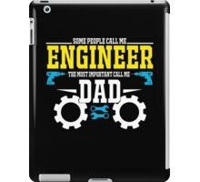 best gift for engineer iPad Case/Skin