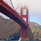 Golden Gate Bridge Shrouded in Fog by Buckwhite