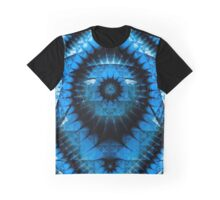 Illuminati Blue Graphic T-Shirt