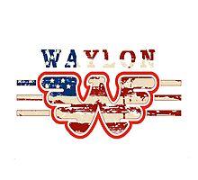Waylon Jennings Willie Nelson Merle Haggard Hank Williams Johnny Cash  Photographic Print