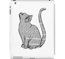 NEWSPAPER CAT tumblr merch! iPad Case/Skin
