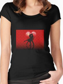 Silhouette lovers Women's Fitted Scoop T-Shirt