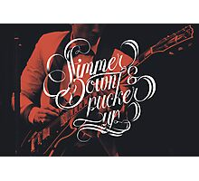 Simmer Down Photographic Print