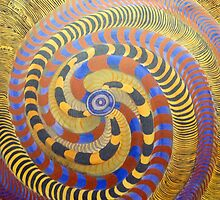 Spiraling Vision Within by James Lewis Hamilton