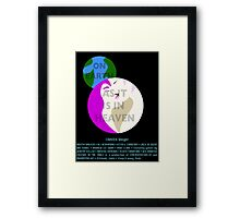 COUNTER/Weight - As It Is In Heaven Framed Print