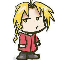 Simple Edward Elric Chibi by NatMit