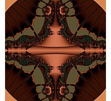 Abstract brown Photographic Print