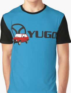 YUGO - WORST CAR IN HISTORY Graphic T-Shirt