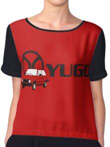 YUGO - WORST CAR IN HISTORY Chiffon Top