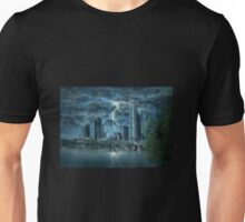 Storm in the city Unisex T-Shirt