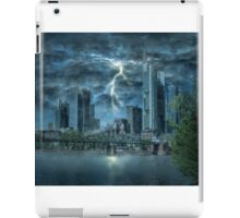 Storm in the city iPad Case/Skin