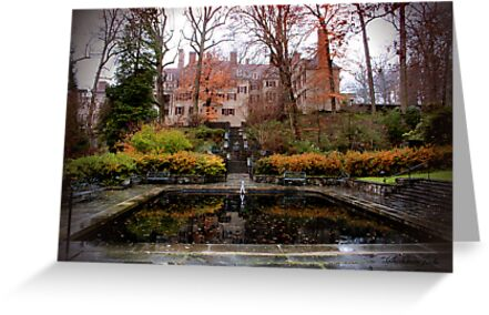 Winterthur Estate with Reflecting Pool by SummerJade