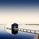 Matilda Bay Boat Shed by Rasendyll