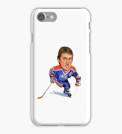 Wayne Gretzky Edmonton Oilers iPhone Case/Skin