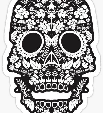 Day of the Dead skull Sticker