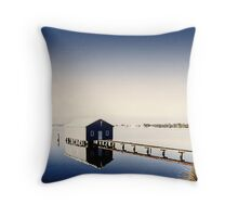 Matilda Bay Boat Shed Throw Pillow