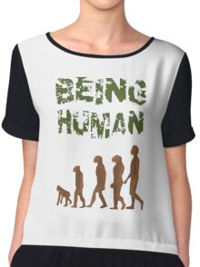 Being Human - Devolution Chiffon Top