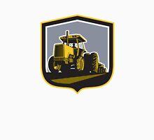 Farmer Driving Vintage Farm Tractor Plowing Retro T-Shirt