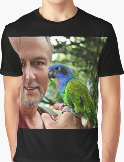Parrot In Campo Alegre, Colombia Graphic T-Shirt