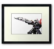 AIM of POWER ! Framed Print