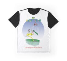 Keep Calm and spin that ball - tony fernandes Graphic T-Shirt