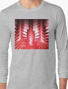 Pink Astilbe Long Sleeve T-Shirt