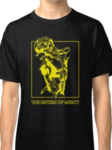 The Sisters Of Mercy - The Worlds End - Front Yellow -Under The Gun Classic T-Shirt