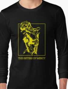 The Sisters Of Mercy - The Worlds End - Front Yellow -Under The Gun Long Sleeve T-Shirt