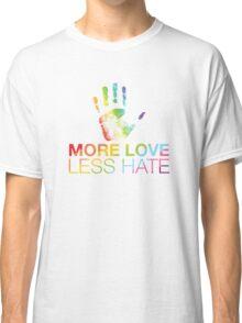 More Love Less Hate, Orlando Pride Classic T-Shirt