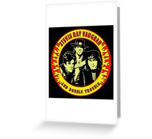 Stevie Ray Vaughan & Double Trouble Colour Greeting Card