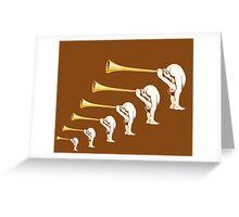 MONTY PYTHON CORNET Greeting Card