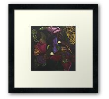 Morphing Foliage Framed Print