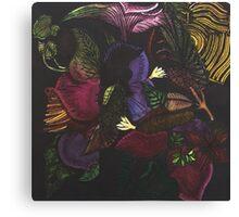 Morphing Foliage Canvas Print