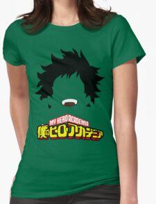 Boku no Hero Academia (My Hero Academia) - Izuku Midoriya Womens Fitted T-Shirt