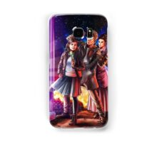 Doctor Who Back to the Future Samsung Galaxy Case/Skin