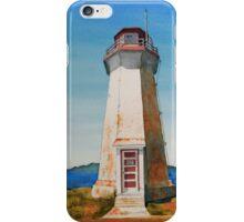 Battle Island Lighthouse #3 iPhone Case/Skin