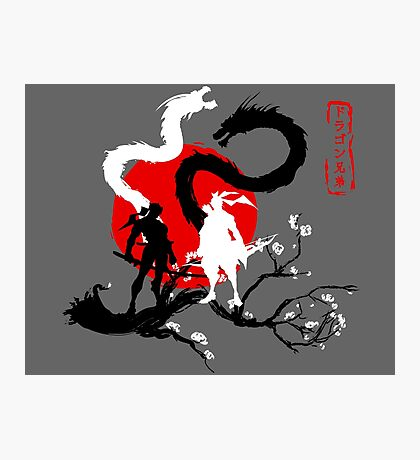 Dragon Brothers Photographic Print