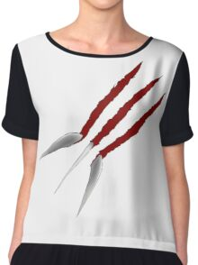 Wolverine Claws Chiffon Top