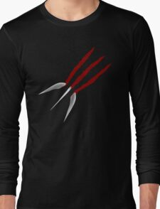 Wolverine Claws Long Sleeve T-Shirt