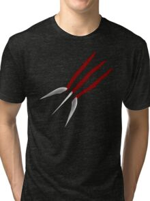 Wolverine Claws Tri-blend T-Shirt