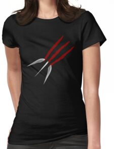 Wolverine Claws Womens Fitted T-Shirt